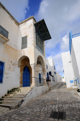 Detail of Sidi Bou Said