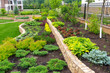 A beautiful home garden