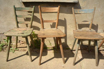 three Stools