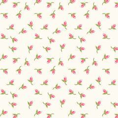 Retro rose pattern 5