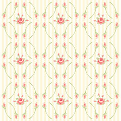 Shabby chic pattern 4