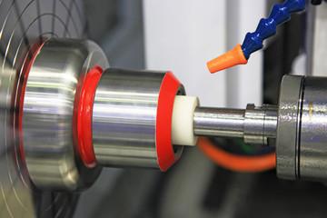 Grinding steel parts