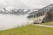 Mountain asphalt route - Switzerland.