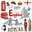 roleta: Collection of England icons