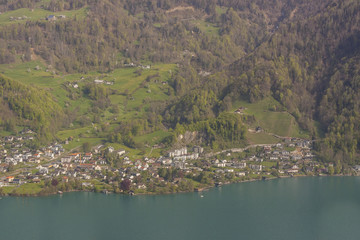 Brienzersee lake - Switzerland.