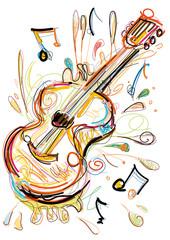 Sketchy Guitar