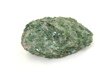 Fuchsite (chromium-rich muscovite) from Brazil. 9cm across.