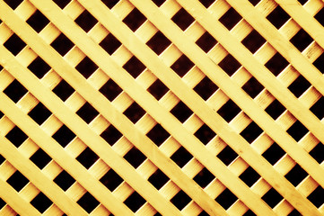 lattice fence pattern