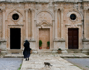 Arkadi monastery, Crete Greece