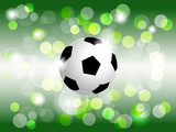 Soccer/football ball vector background