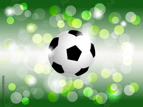 Soccer/football ball vector background