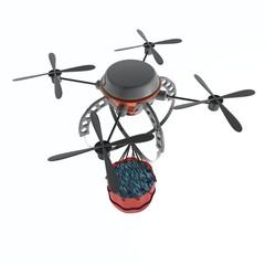 op afstand bestuurbare blus helikopter