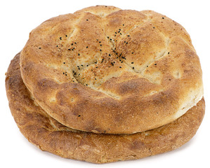 Traditional Turkish pita consumed during holy month Ramadan