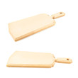 Wooden cutting board isolated