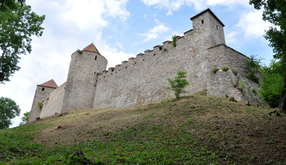 Veveri fortified castle, Czech republic, Europe