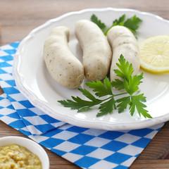 Oktoberfest meal: Weißwurst