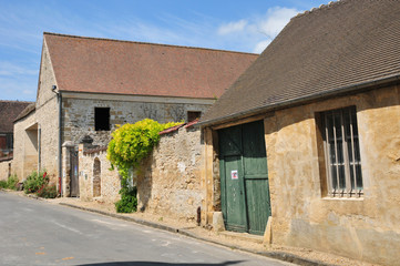 France, the picturesque village of Themericourt