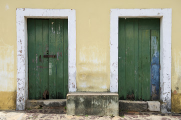 Traditional Brazilian Portuguese Colonial Architecture Brazil