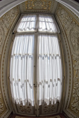 curtain window background