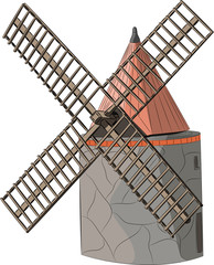 vector windmill