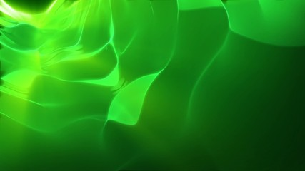 Green flow background