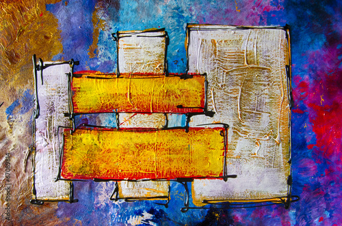 Ölgemälde Gemälde Kunstdruck artprint Kunst abstrakt