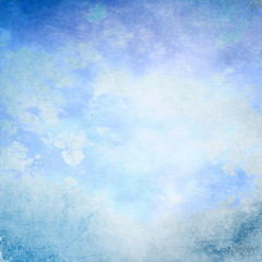 Blue grunge background texture