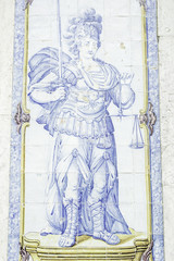 Soldier in tile