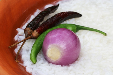 Traditional wet rice of Bangladesh