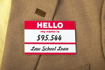 My Name Is Law School Debt.