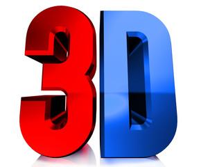 Shiny 3D logo