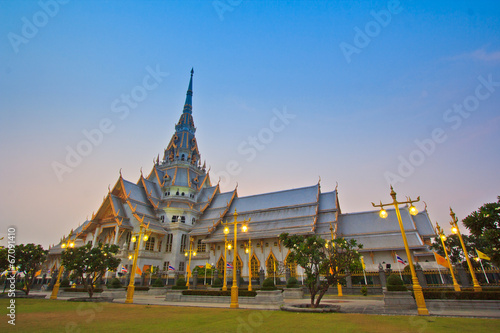Wat So-Thorn in Cha-Choeng-Sao province of Thailand