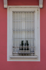 Windows with iron bars