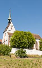 Basel, Bettingen, St. Chrischona, Kirche, Sommer, Schweiz