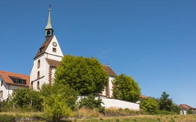 Basel, Bettingen, Kirche, St. Chrischona, Pilgermission, Schweiz