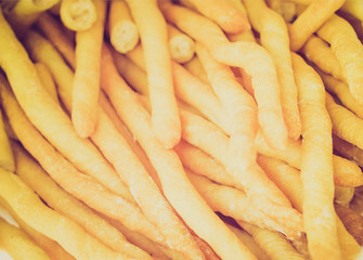 Retro look Breadsticks