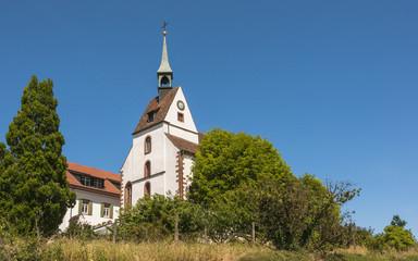 Basel, St. Chrischona, Bettingen, Kirche, Sommer, Schweiz