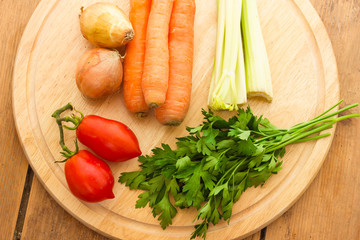 Vegetables for vegetable broth