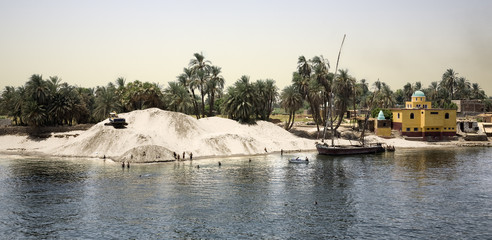 Paisaje del Nilo