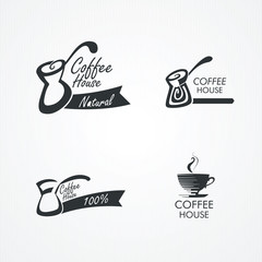 Coffee design elements.