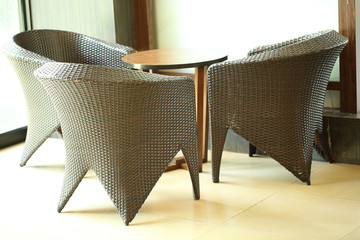 Table Chair for Customer