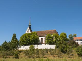 Basel, Bettingen, St. Chrischona, Kirche, Pilger, Schweiz