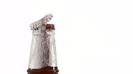 silver opening beer bottles
