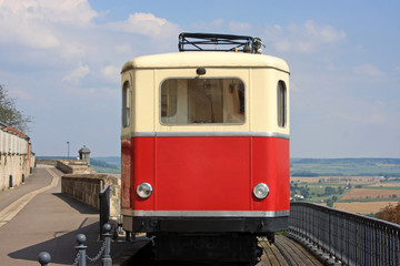 funicular in Langres
