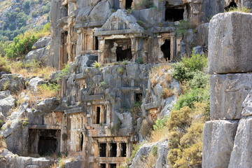 Rock-cut tombs