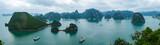 Panorama of Halong Bay, Vietnam - 67097032