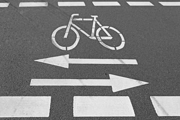 Hinweis Fahrradverkehr