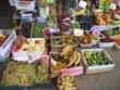 ortaggi e frutta al mercato ortofrutticolo