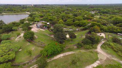 Aerial Metro Zoo Miami