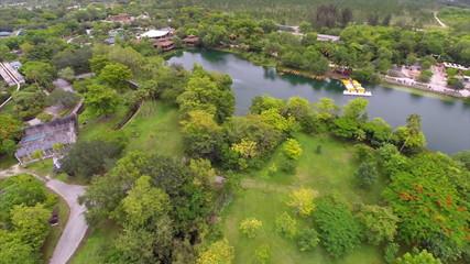 Nature aerial video